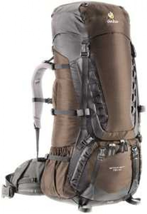 DEUTER Aircontact 75L + 10 (coffe-black)
