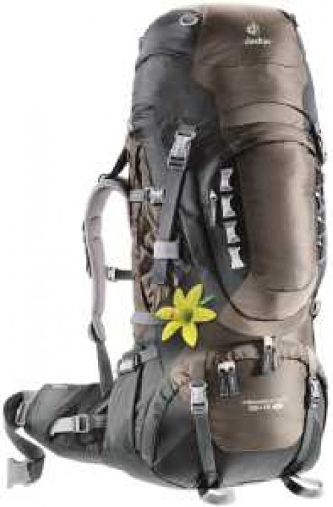 DEUTER Aircontact Pro 55L + 15 SL (coffee-black)