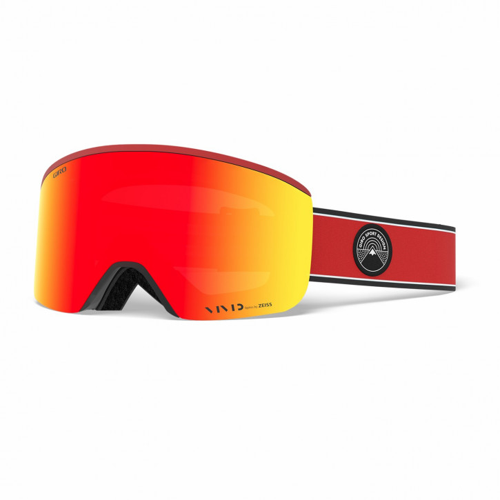 Giro Axis Vivid - Red Element (ember + infrared)
