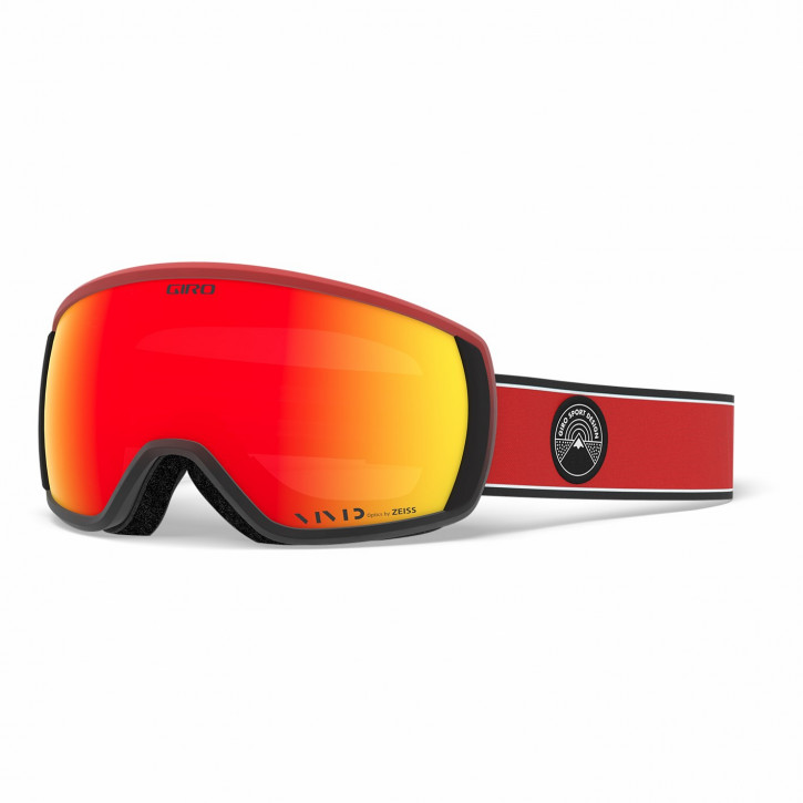 Giro Balance Vivid - Red Element (ember)