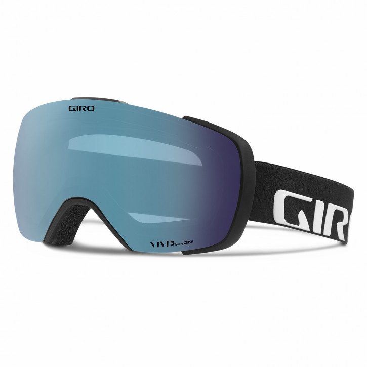 Giro Contact Vivid - Black Wordmark (royal + infrared)