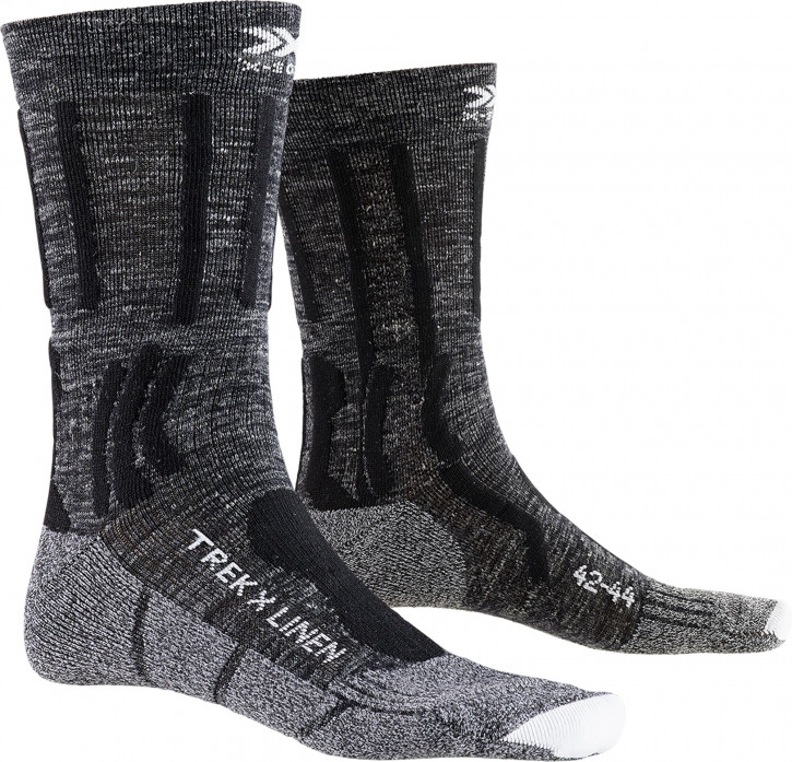 X-Socks Trek X Linen 3er Set (grey melange)