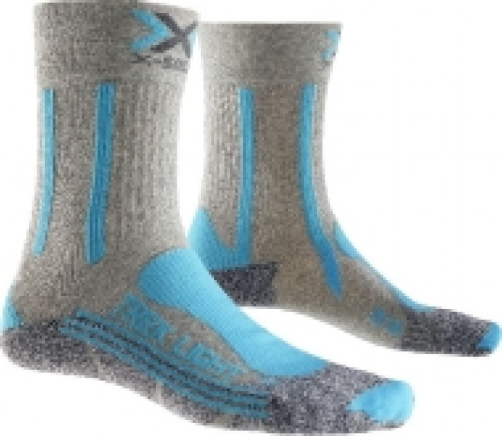 X-Socks Trekking Light Women (light grey/türkis)