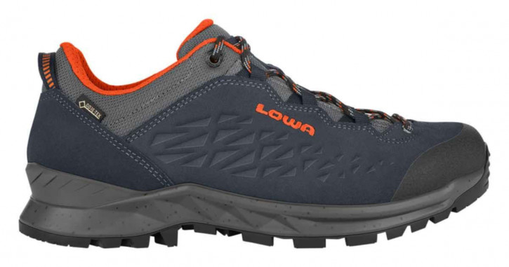 LOWA Explorer GTX Lo (navy/orange)