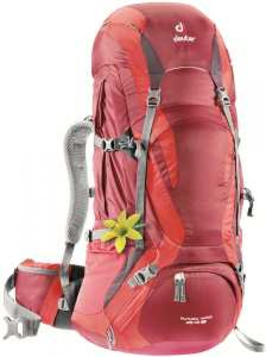 DEUTER Futura Vario 40 + 10 (cranberry-fire)