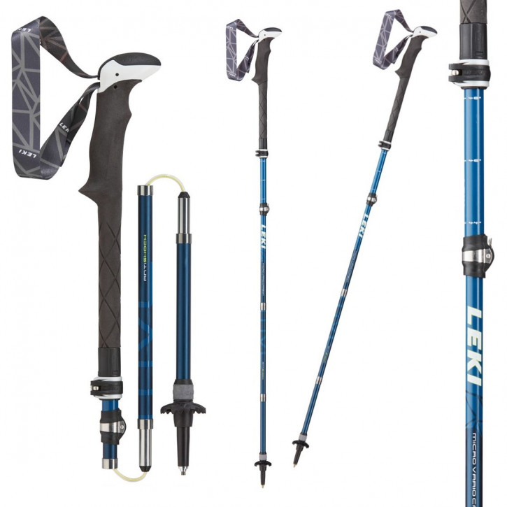 LEKI Micro Vario Carbon AS (blau-weiss)